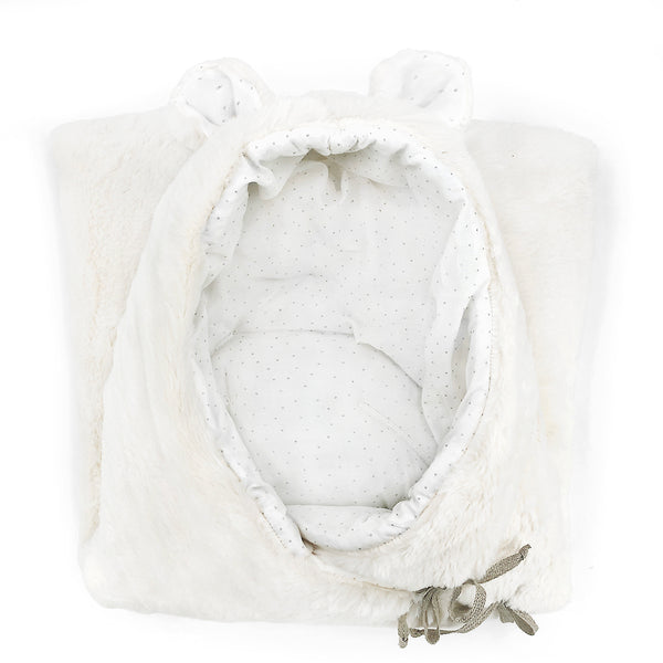 Snow White Bear Nest with Harness Openings