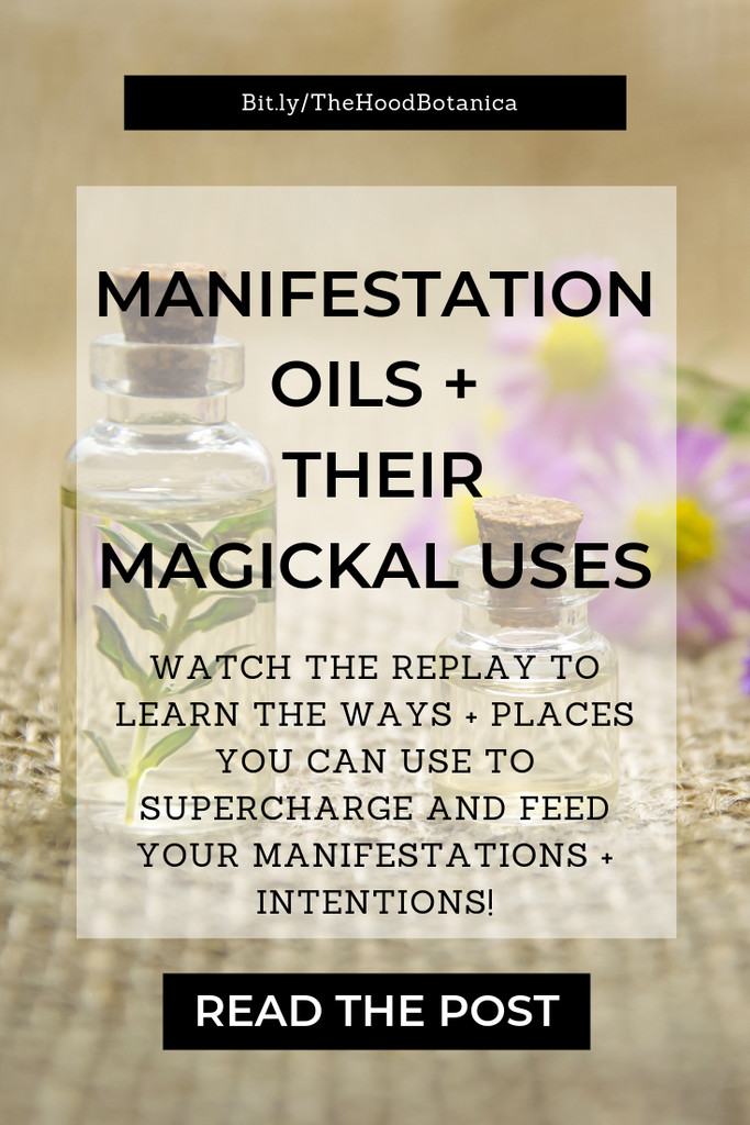 Manifestation Oils + Their Uses Replay
