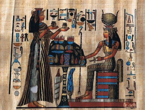 egyptian papyrus oil