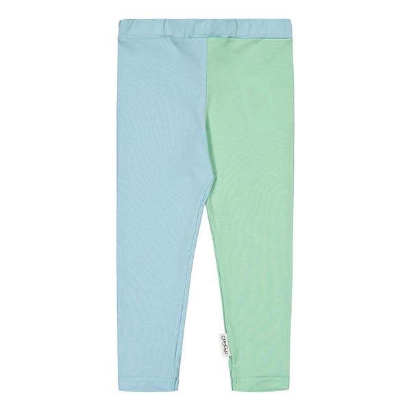 gugguu 2-Colored Leggings Leggings Bluebell / Peppermint 62 / 0-3 M