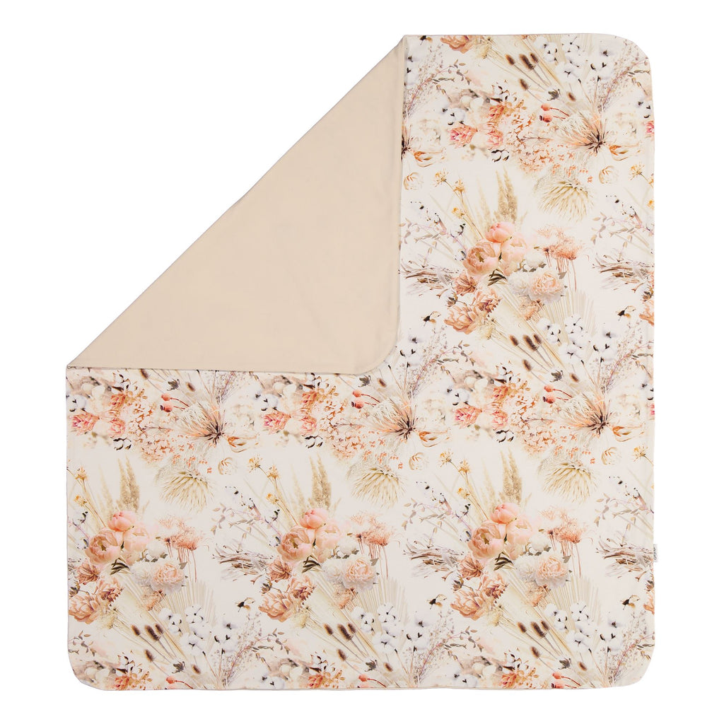 gugguu Baby Blanket Bedding Natural Flower ONE SIZE