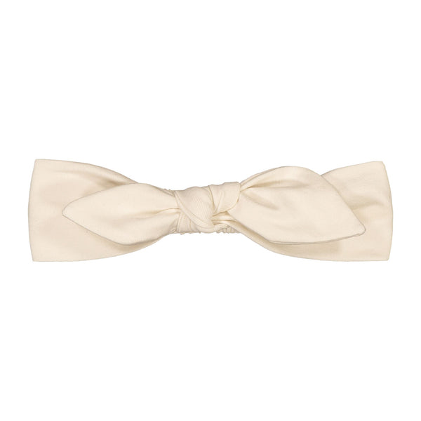 gugguu Baby Bow Band Hair accessories White Sand XXXS