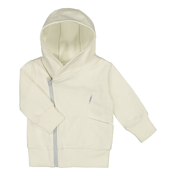 gugguu Baby Hoodie Hoodies and sweatshirts Pearl White / Frozen Blue 50