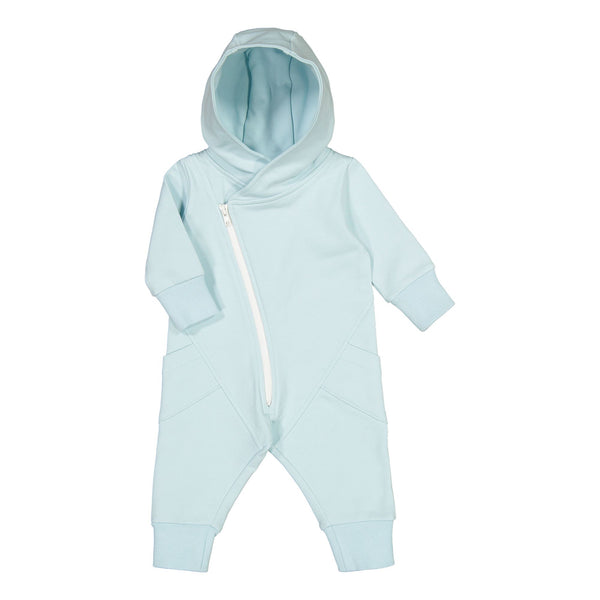 gugguu Baby Jumpsuit Jumpsuits Baby Blue / White Sand 50