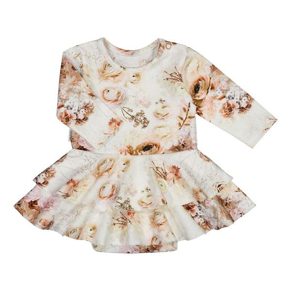 gugguu Baby Print Frilla Dress Dresses Autumn Garden 50