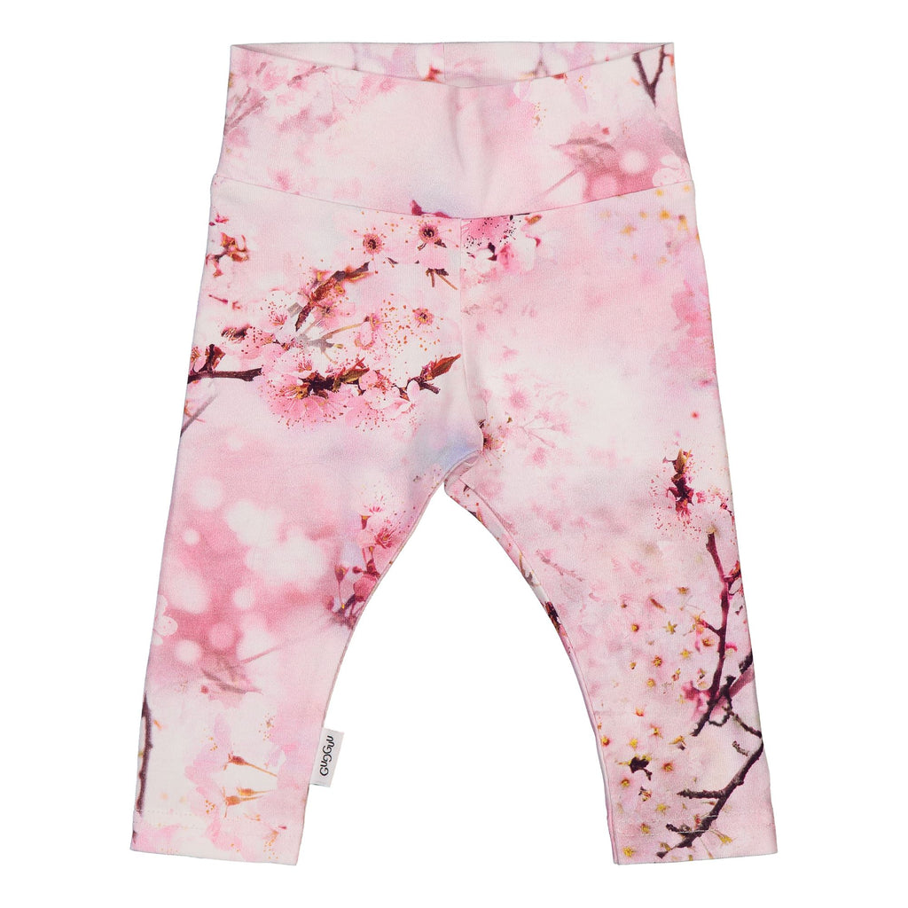gugguu Baby Print Leggings Leggings Cherry Blossom 50