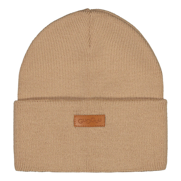 gugguu Basic Beanie Headwear Vanilla Coffee XS
