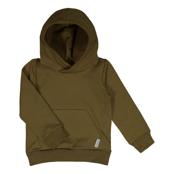 gugguu Basic Hoodie Hoodies and sweatshirts Olive Green 80