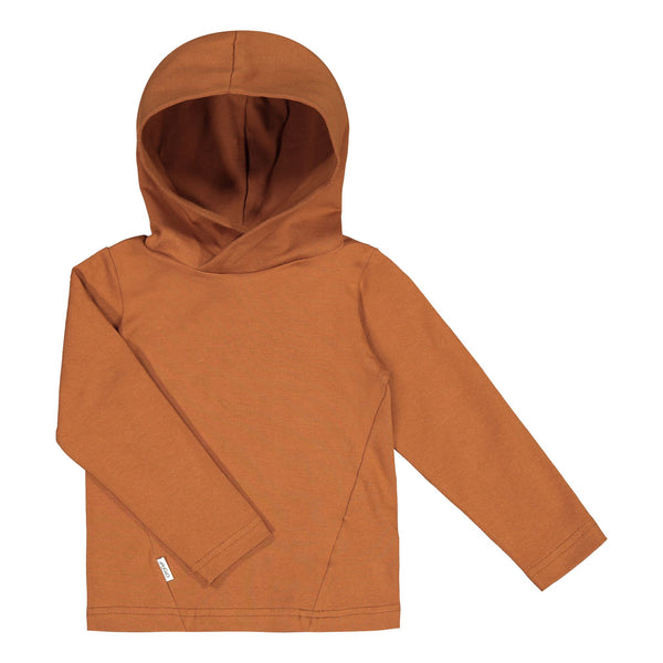 gugguu Basic Jersey Hoodie Hoodies and sweatshirts Brown Sugar 80