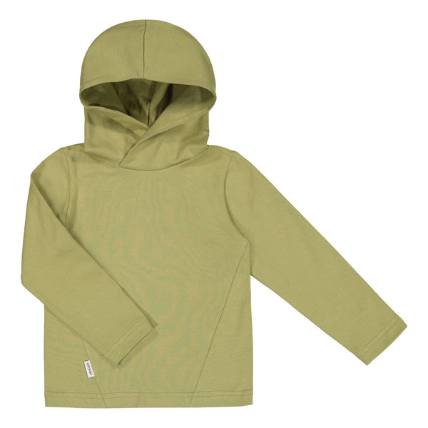 gugguu Basic Jersey Hoodie Hoodies and sweatshirts Sage Green 80