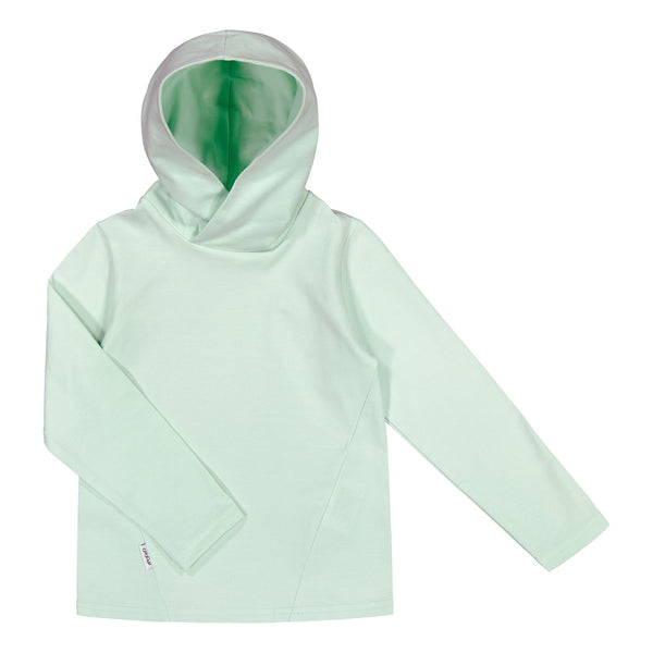 gugguu Basic Jersey Hoodie Hoodies and sweatshirts Sea Glass 80