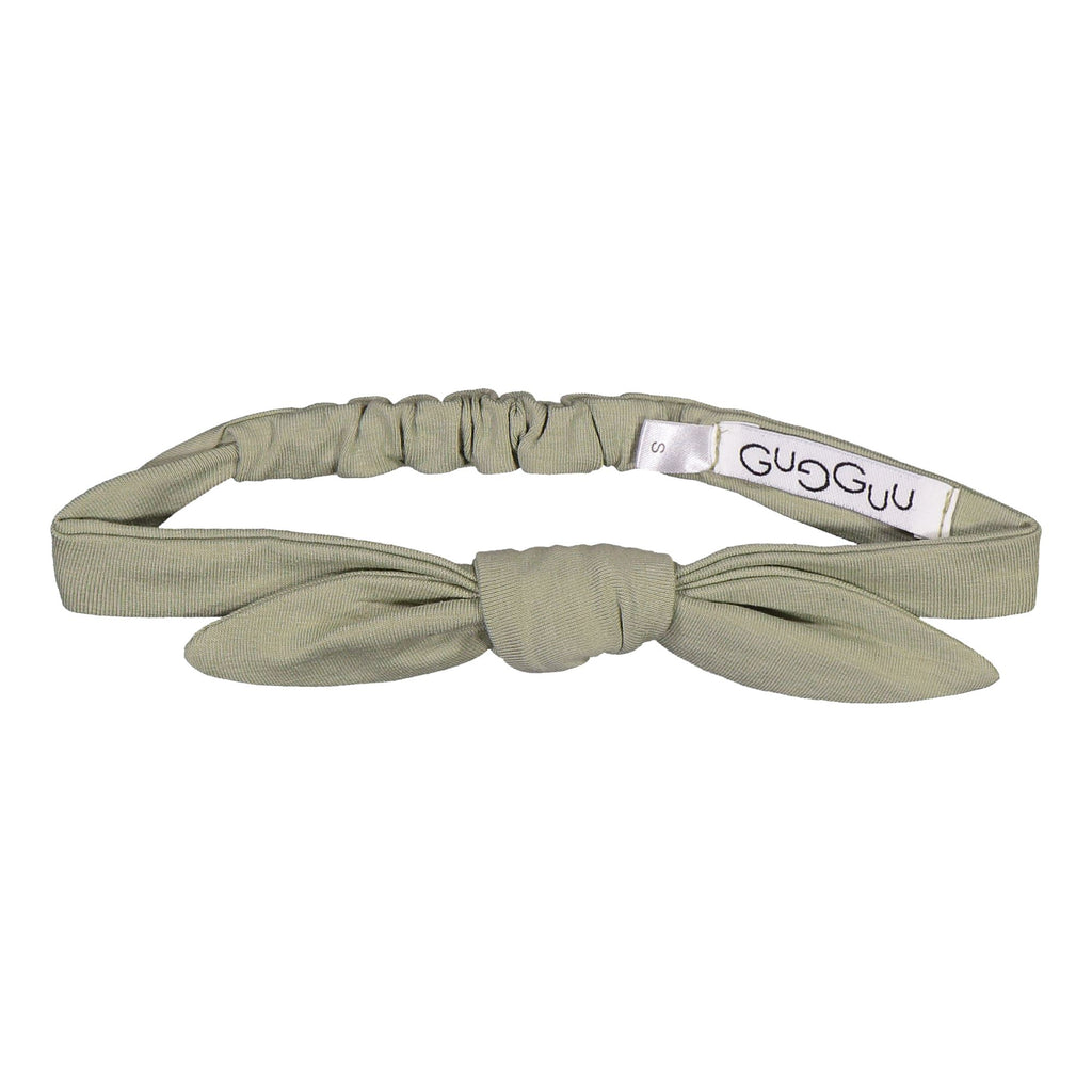 gugguu Bow Band Hair accessories Pale Sage S