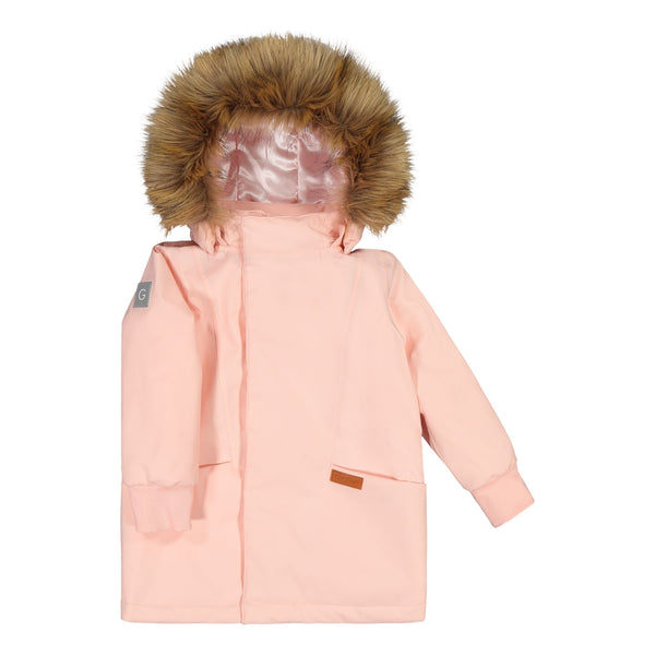 gugguu C´ Moon Winter Jacket Outerwear Satin Pink 80 / 1Y