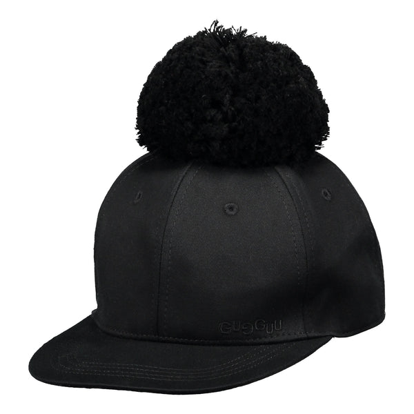 gugguu Cap with one tuft Headwear Black XS