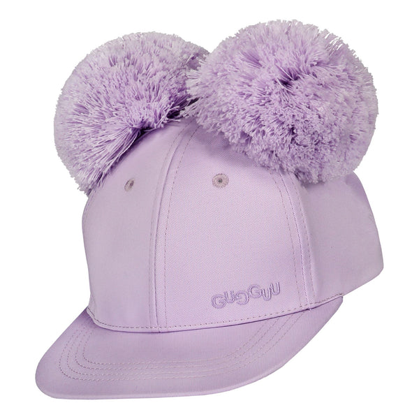 gugguu Cap with two tufts Headwear Lavender XS