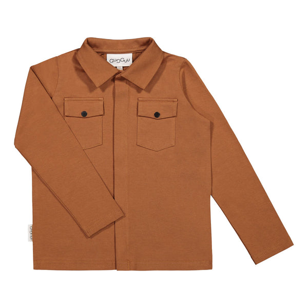 gugguu Cargo Shirt Shirts Brown Sugar 80