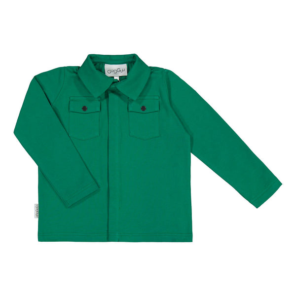 gugguu Cargo Shirt Shirts Jungle Green 80