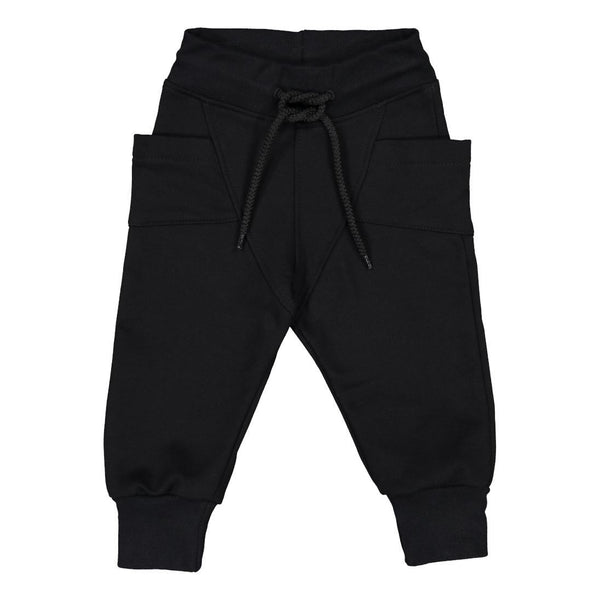 gugguu College Baggy Pants Black 92