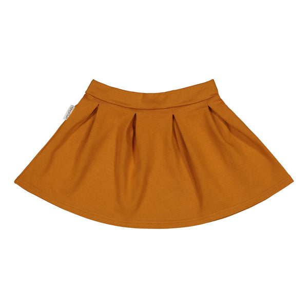gugguu Flow Skirt Skirts Tanned Yellow 80