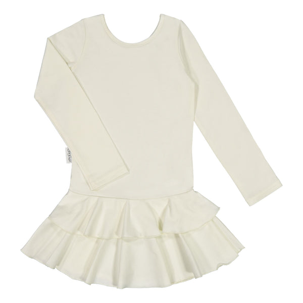 gugguu Frilla Dress Dresses Pearl White 80
