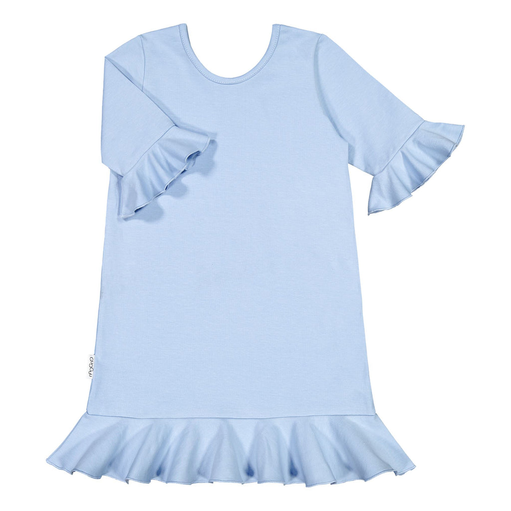 gugguu Frilla Nightdress Pajamas Frozen Blue 80
