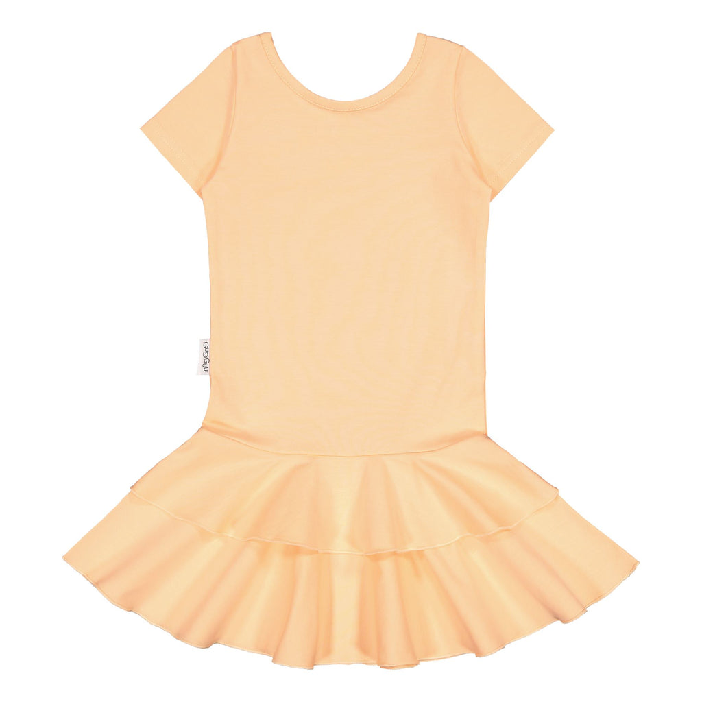gugguu Frilla T-shirt Dress Dresses Honey 92