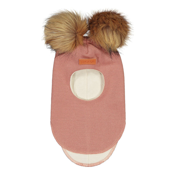 gugguu Furry Balaclava Headwear Frosty Rose XS