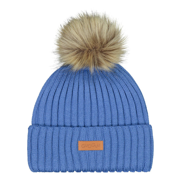 gugguu Furry Beanie Headwear Winter Sky XS