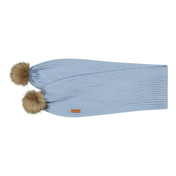 gugguu Furry Scarf Scarfs Frozen Blue ONE SIZE