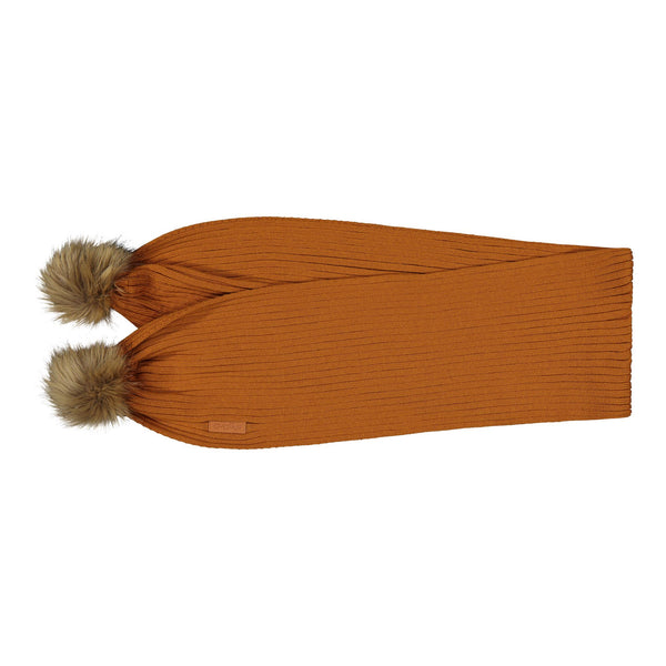 gugguu Furry Scarf Scarfs Tanned Yellow ONE SIZE