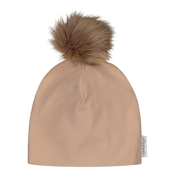 gugguu Furry Tricot Beanie Headwear Sugar Cookie XS
