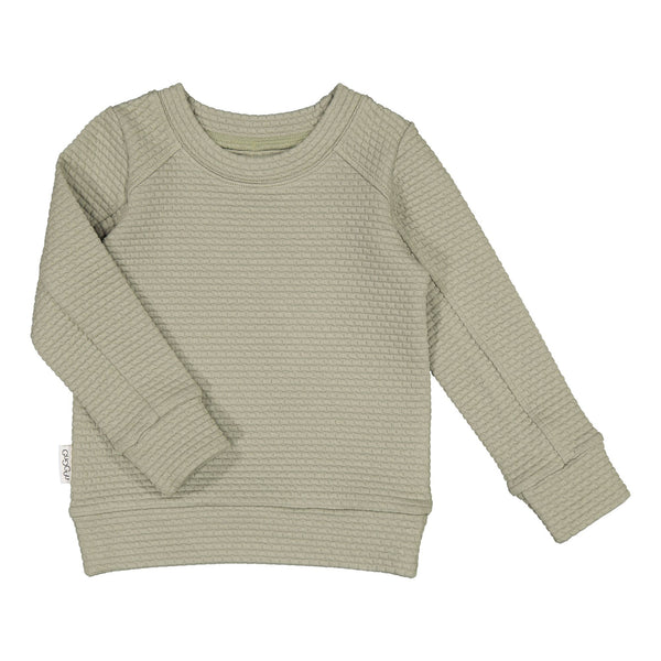 gugguu Glow Sweatshirt Hoodies and sweatshirts Pale Sage 80