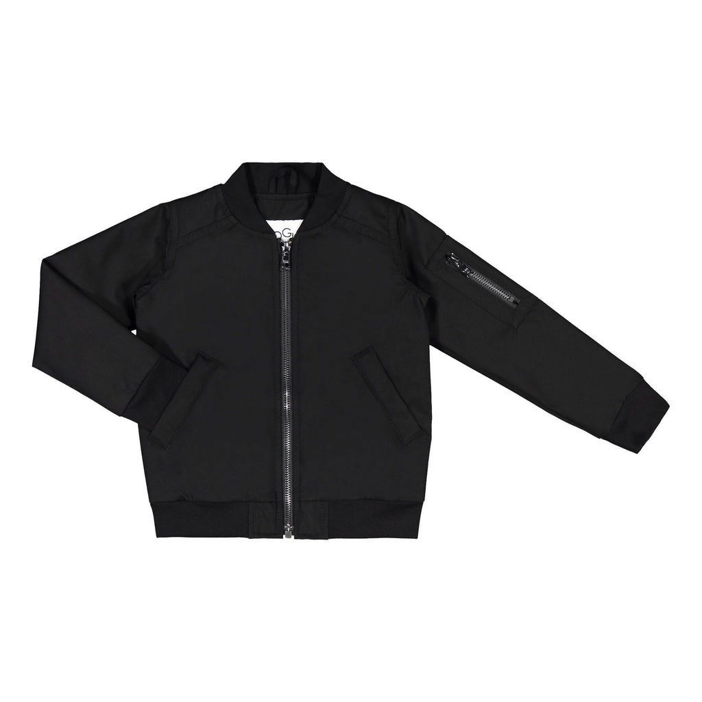 gugguu Go'on Bomber Jacket Outerwear Black 80 / 1Y