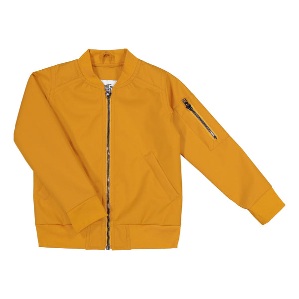 gugguu Go'on Bomber Jacket Outerwear Tanned Yellow 80 / 1Y