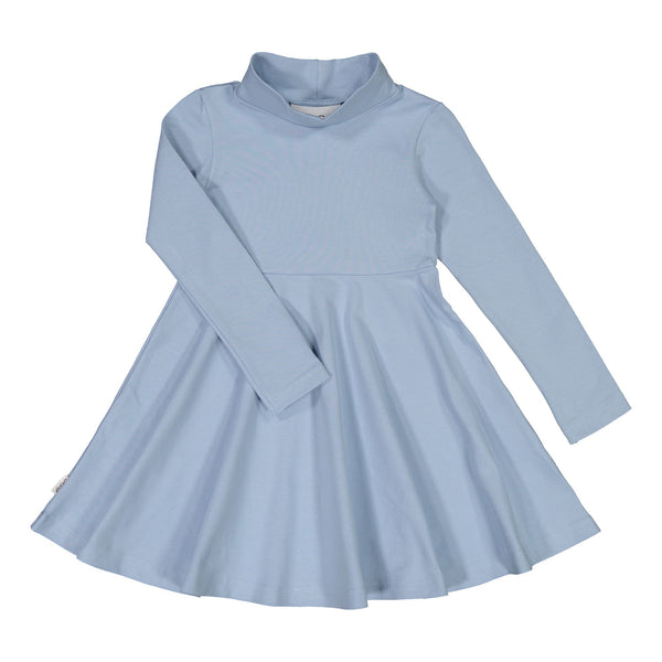 gugguu Half Turtleneck Dress Dresses Frozen Blue 80
