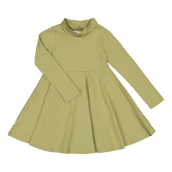 gugguu Half Turtleneck Dress Dresses Sage Green 80