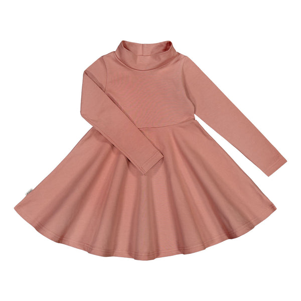 gugguu Half Turtleneck Dress Dresses Vintage Rose 80