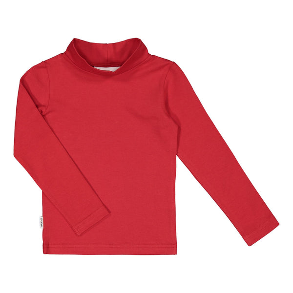 gugguu Half Turtleneck Shirt Shirts Ruddy Red 80
