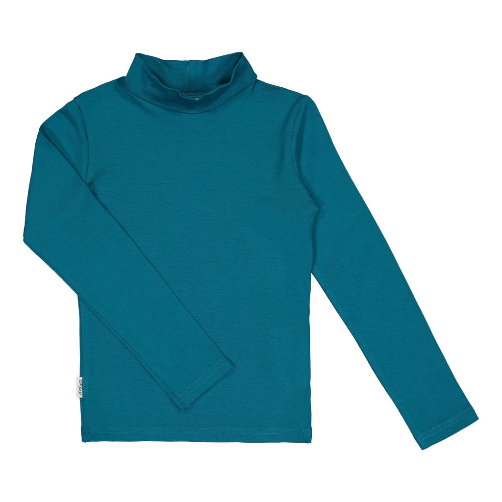 gugguu Half Turtleneck Shirts Ocean 140