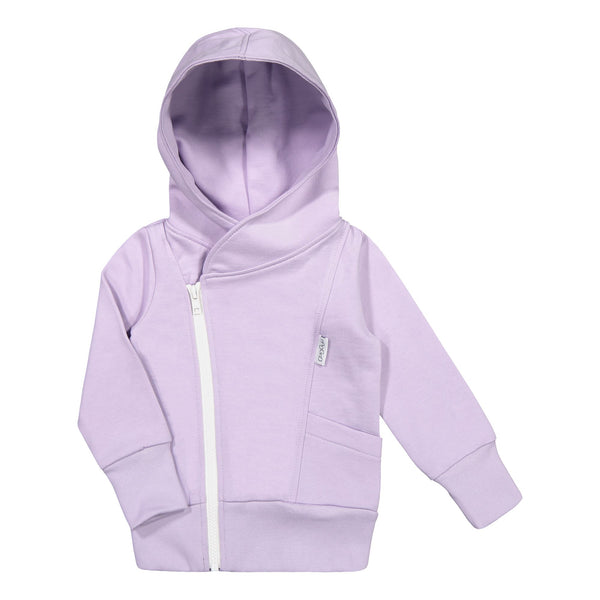 gugguu Hoodie Hoodies and sweatshirts Lavender / White candy 80/1Y