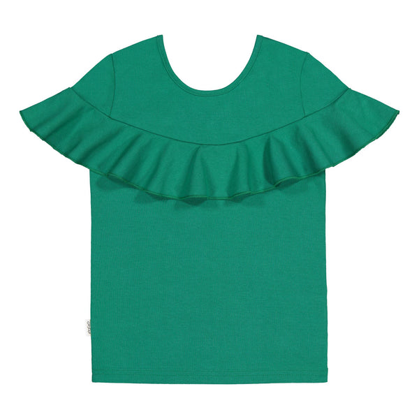 gugguu Kaila T-Shirt Shirts Jungle Green 80