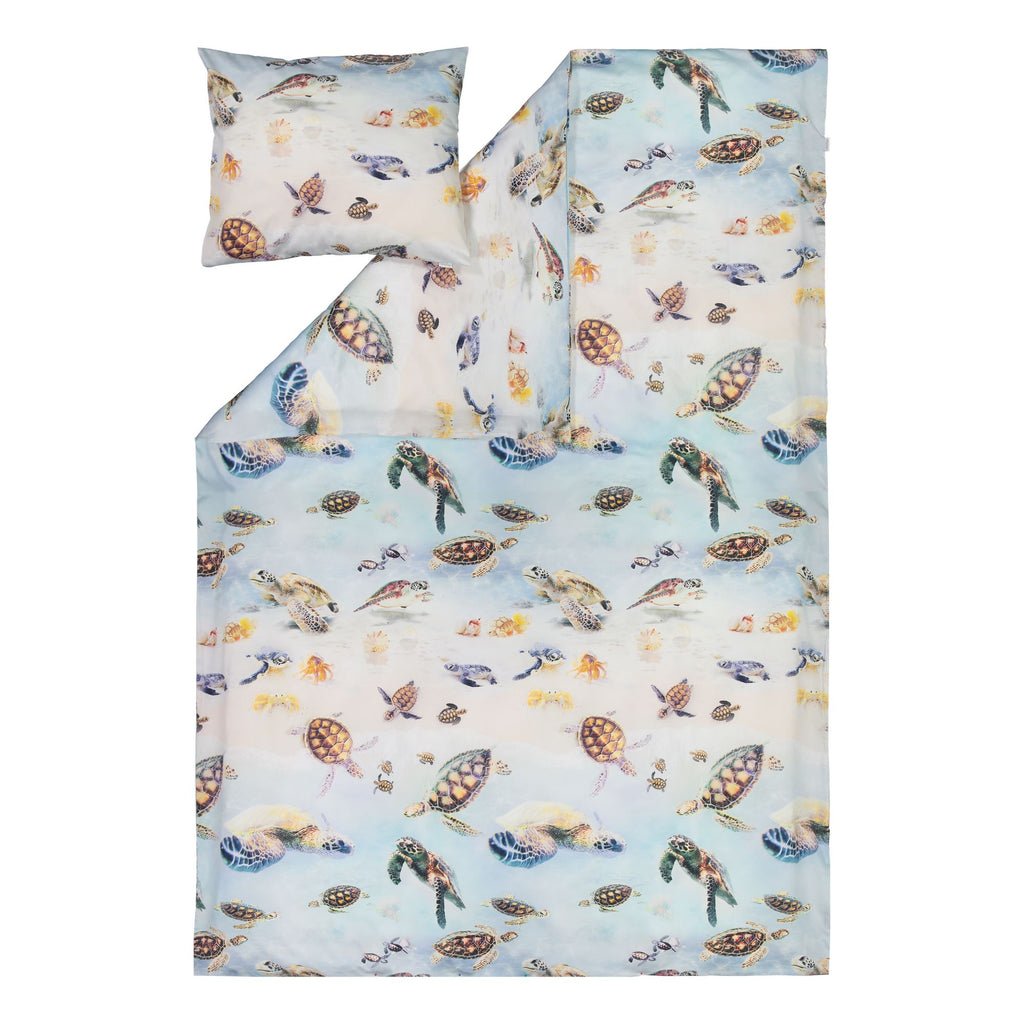 gugguu Kids' Bed Set Bedding Turtles