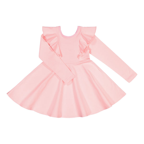gugguu Long sleeve Rizi Dress Dresses Romance Pink 92