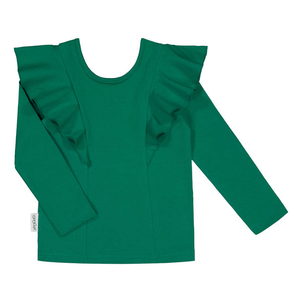 gugguu Long sleeve Rizi Shirt Shirts Jungle Green 80