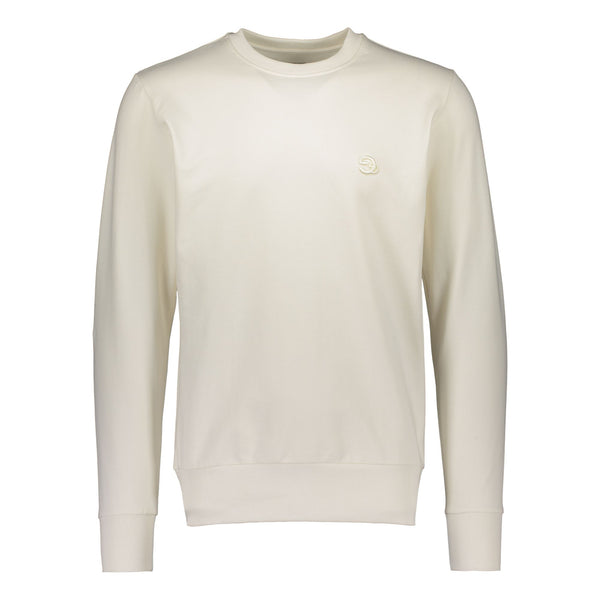 gugguu Men's Logo sweatshirt Men's tops Pearl white XS