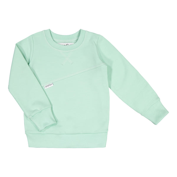 gugguu Mono Sweatshirt Hoodies and sweatshirts Peppermint 80/1Y