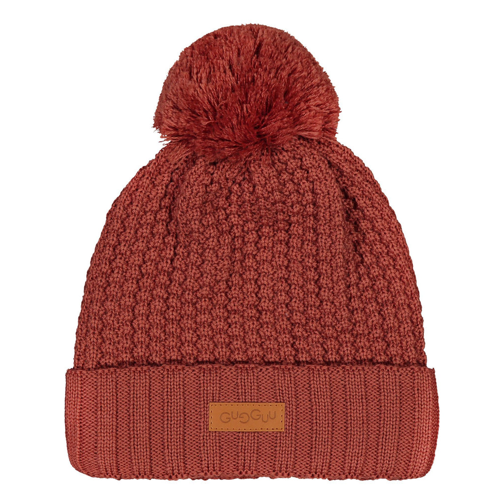 gugguu One Tuft Beanie Headwear Cinnamon Sunset L