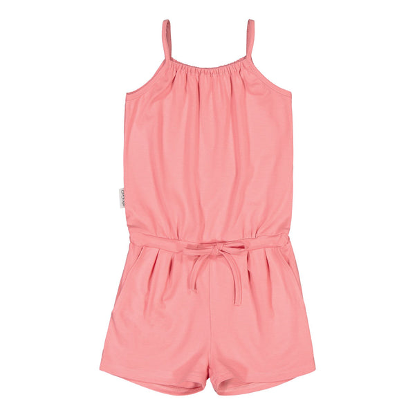 gugguu Oneshort Overall Jumpsuits Pastel Coral 80