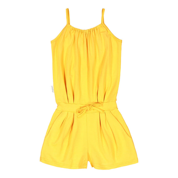 gugguu Oneshort Overall Jumpsuits Sun Gold 80
