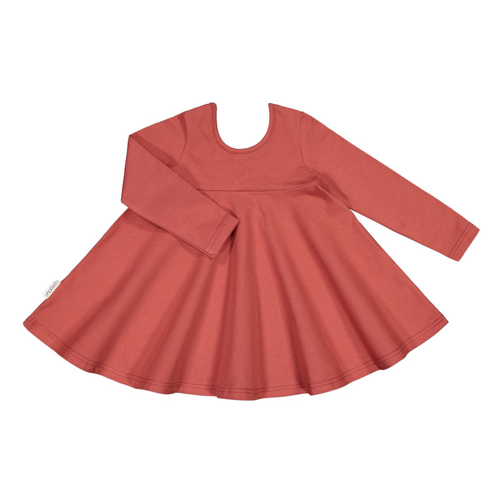gugguu Outlet Celia Dress Dresses Cinnamon Sunset 80